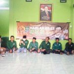 Tampak sejumlah anggota DPRD Fraksi PKB hadir dalam peringatan Harlah Ke 22 dan pelaksanaan penyembelihan kurban Idul Adha 1441 H